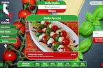 SiteCaster screenshot: SiteCaster: Create professional digital menus