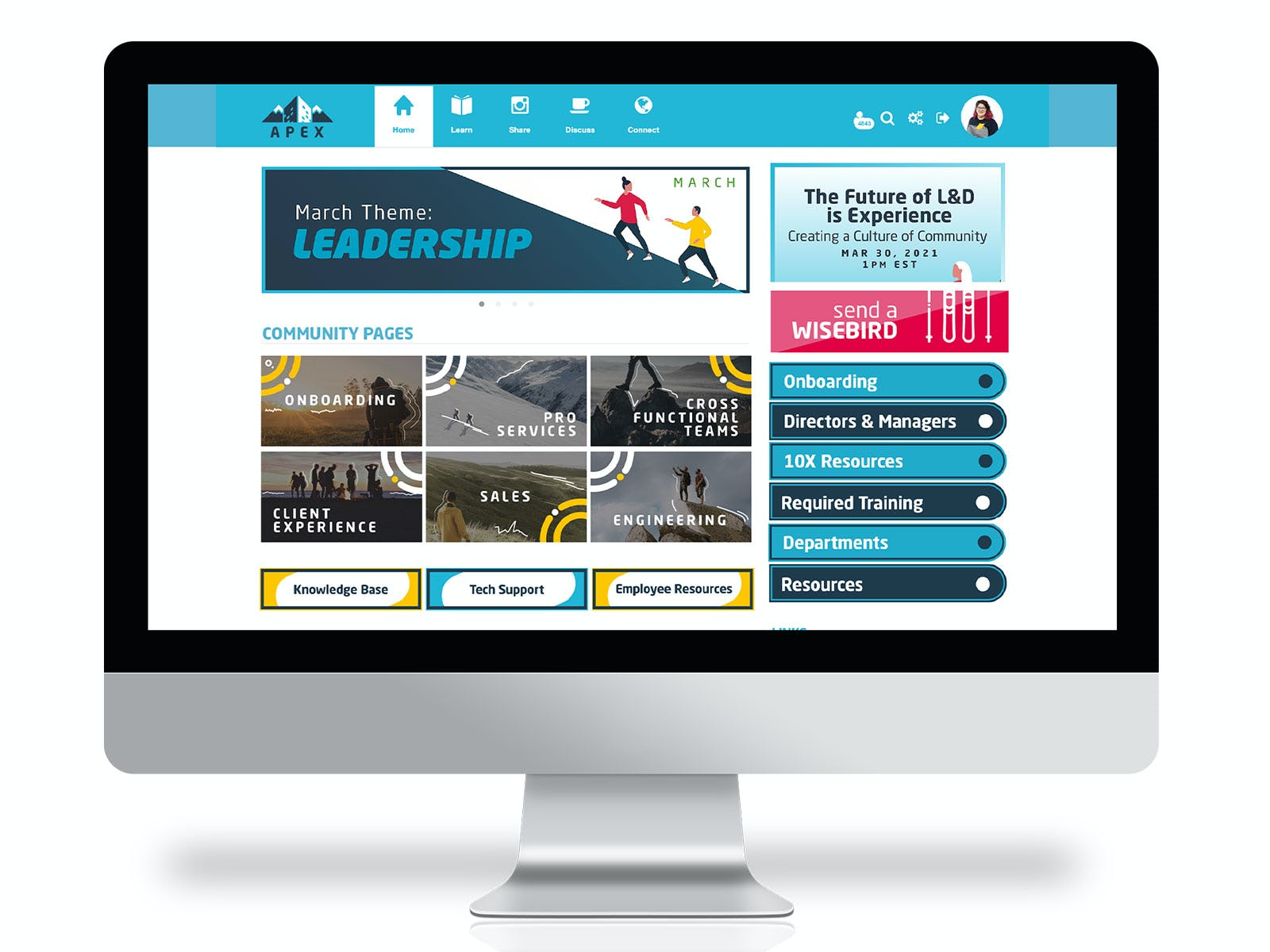 Wisetail LMS Software - Home Page