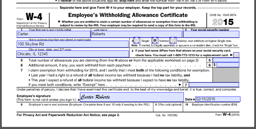 Collect new hire paperwork electronically with ApplicantStack