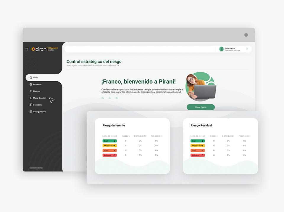 Pirani Riskment Suite Software - 2
