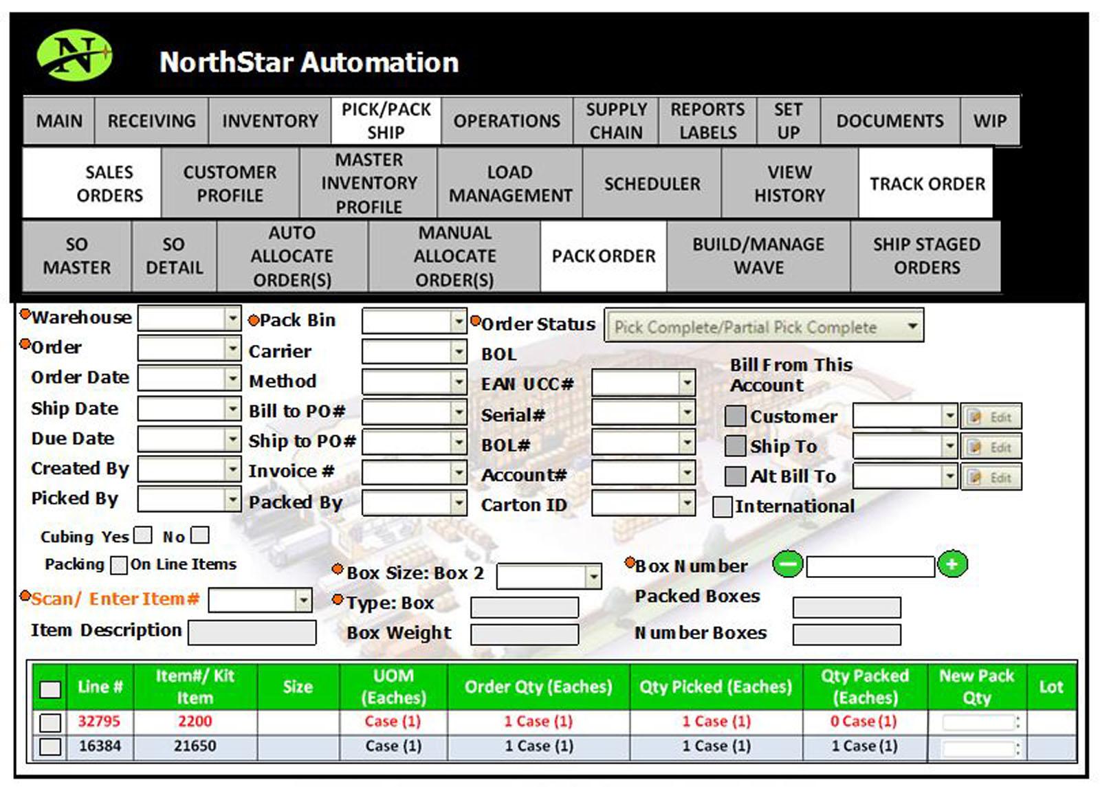 NorthStar WMS Software - Pick, pack & ship
