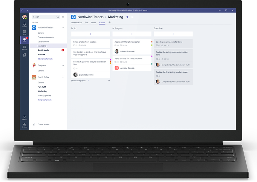 The planner allows users to manage and track tasks