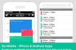 Schedulista screenshot: Use the iPhone or Android mobile app to manage appointments on-the-go