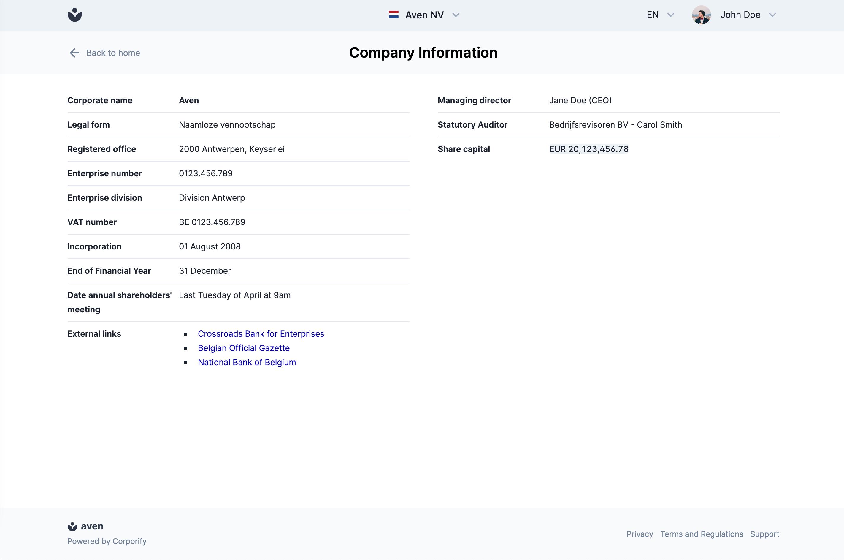 Corporify Software - 2