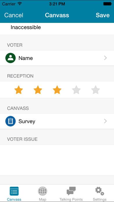 5-star reception rating system