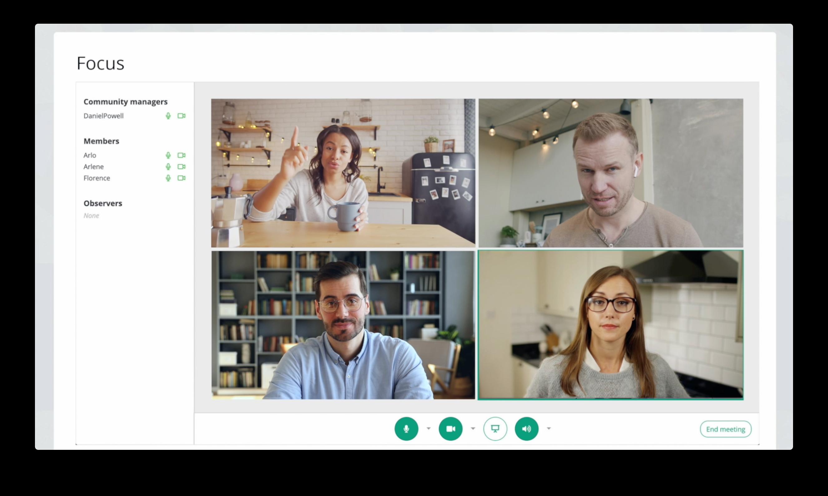 CMNTY Platform team meetings