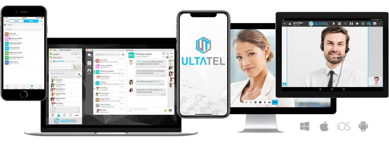 ULTATEL provides you seamless communication on any device