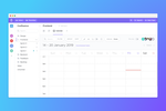 ClickUp screenshot: ClickUp's Calendar View is your place for planning, scheduling, and even resource management. It's about time that someone combined everything you need related to time in one platform!