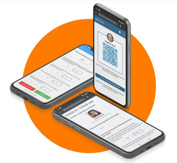 Contactless QR Code Check-in for Recreation Programs