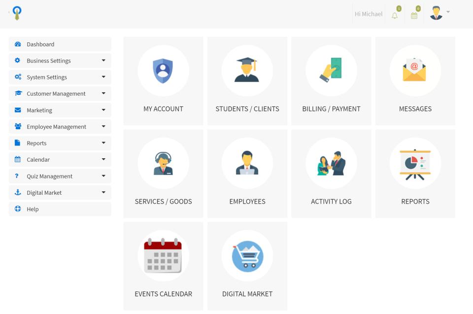 STEAMS ONLINE screenshot: Streams Online Dashboard