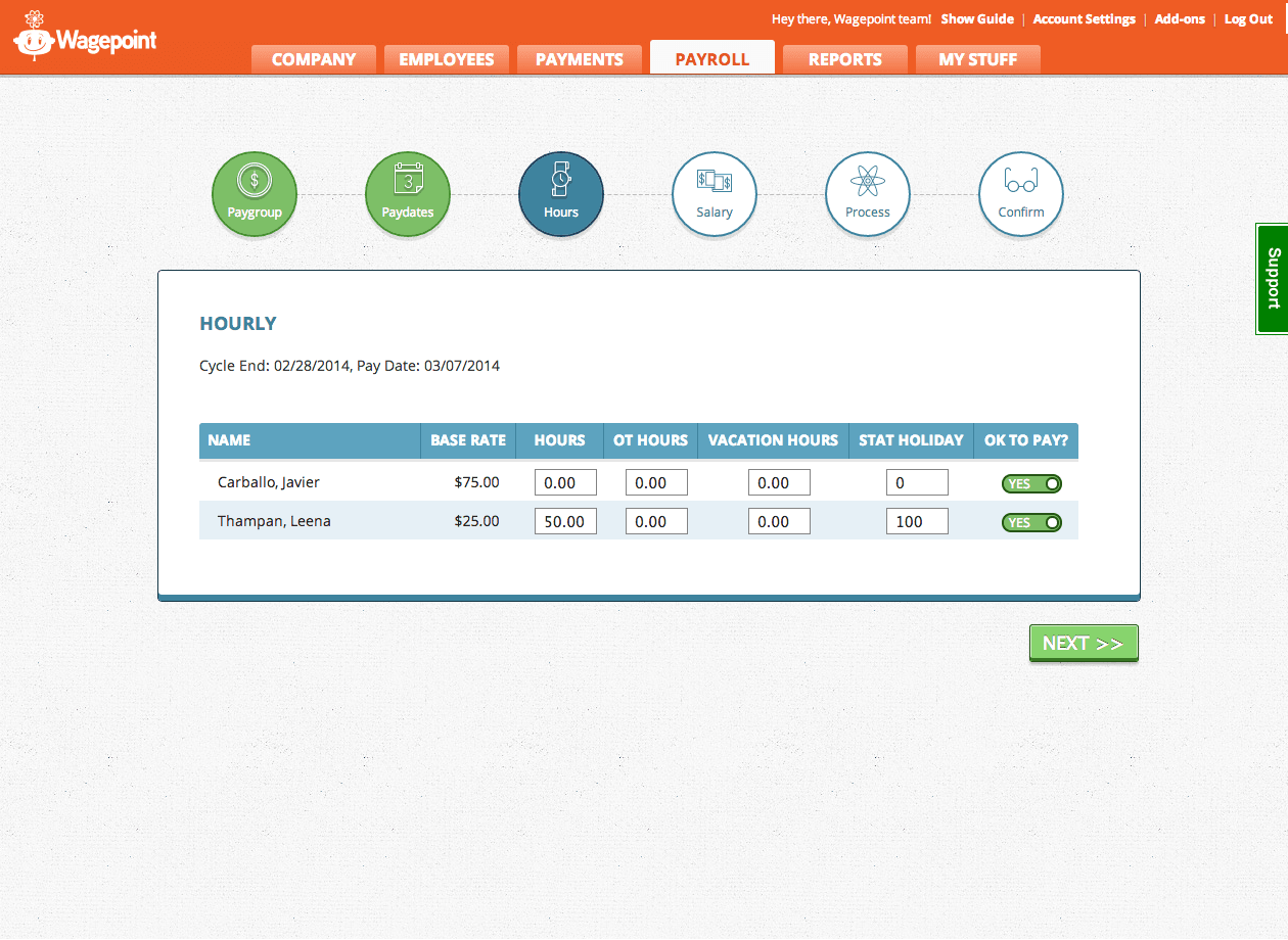 Wagepoint Software - Payroll