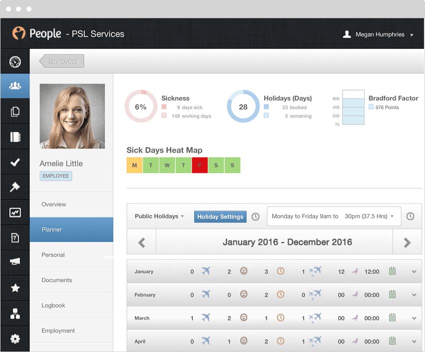 PeopleHR Software - 3
