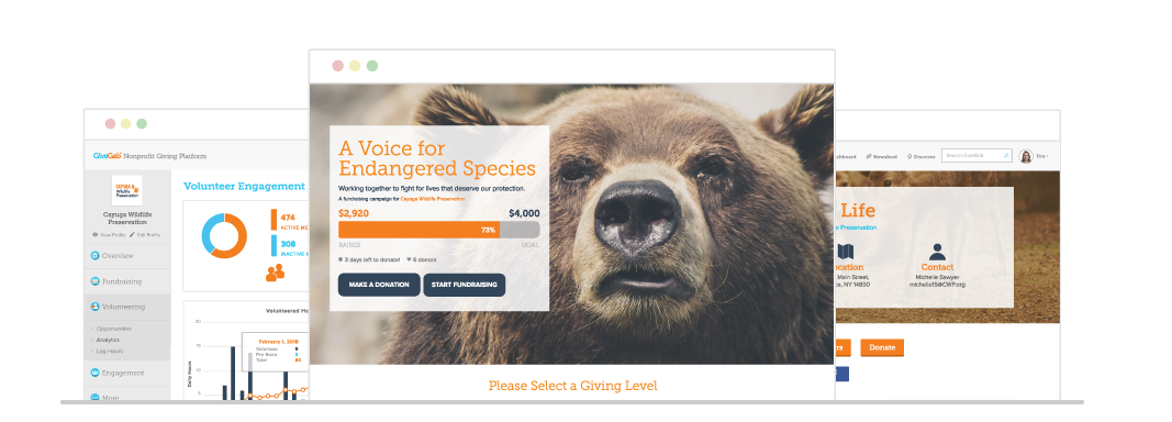 GiveGab: Advanced fundraising and supporter engagement