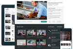 Raven360 screenshot: Deliver all forms of digital content across any device