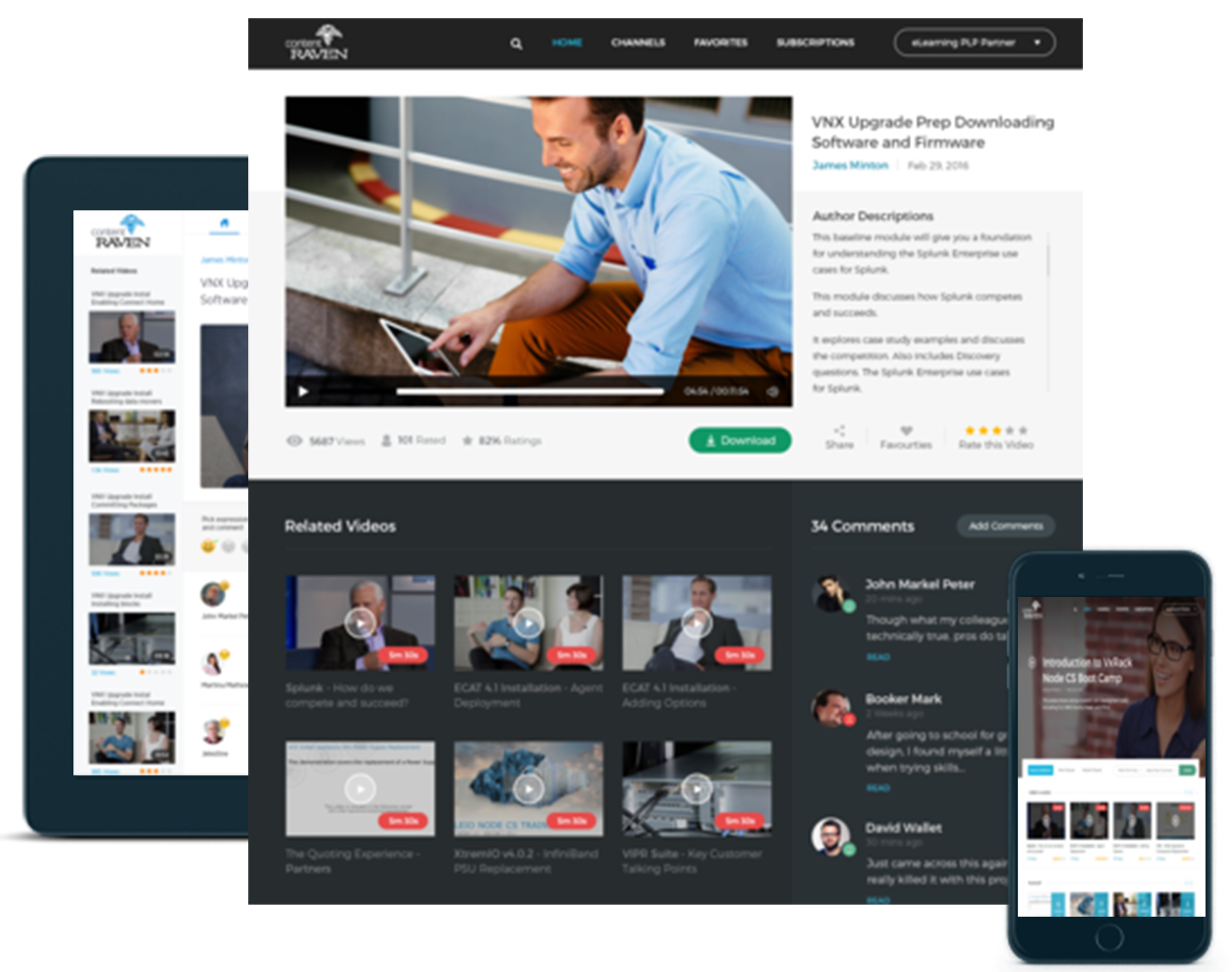 Deliver all forms of digital content across any device
