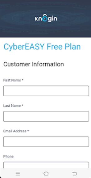 CyberEasy login