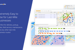 Route4Me screenshot: Extremely Easy to Use for Last-Mile Businesses. Perfect for delivery, pickup, sales, field service, maintenance, and any other last-mile business routes!