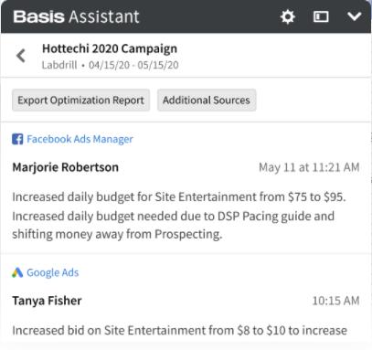 Basis Software - Basis campaign management