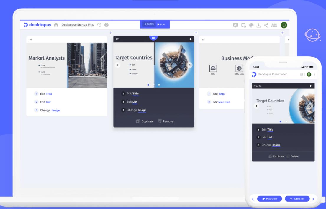 Decktopus design management