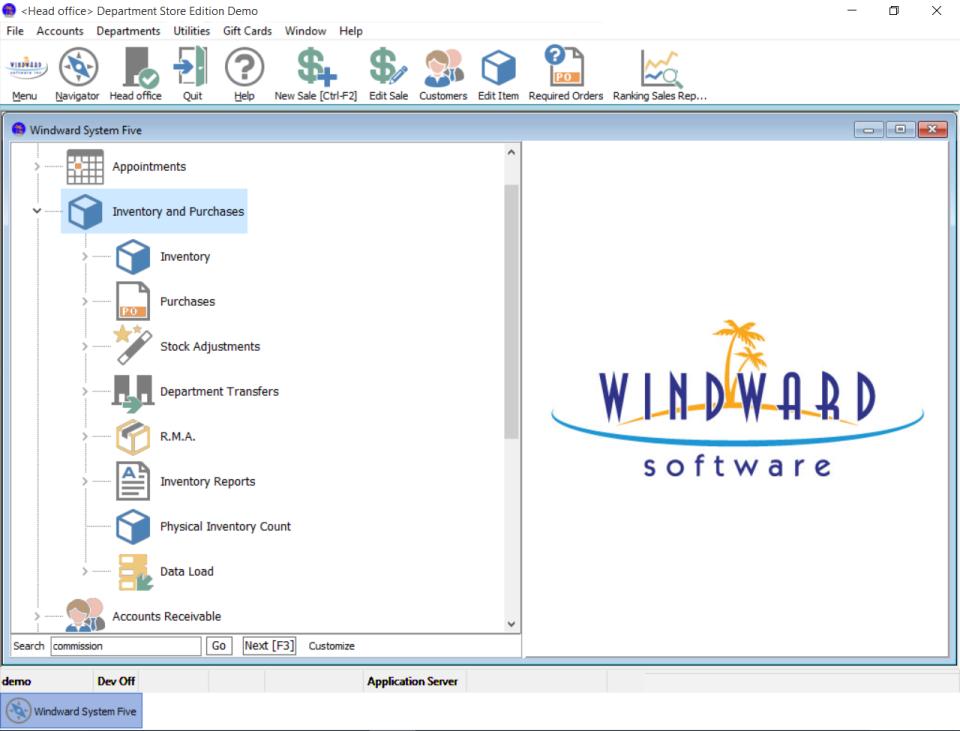 Windward System Five Software - 1