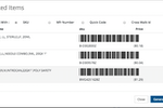 Hybrent screenshot: Easy scanning of barcodes