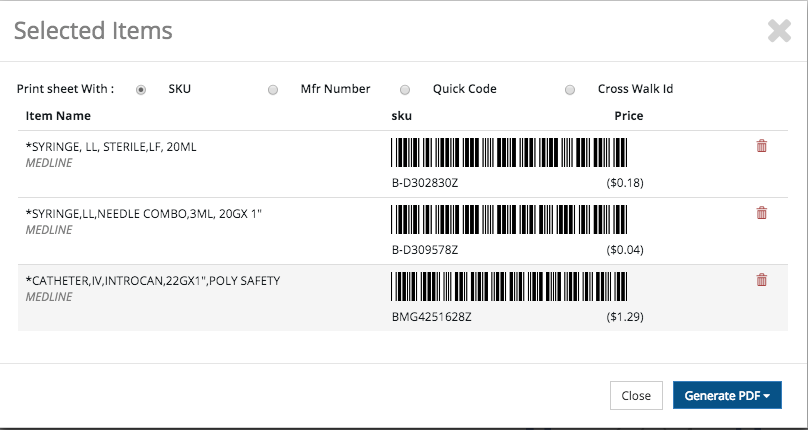 Easy scanning of barcodes