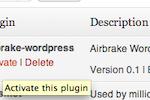 Airbrake screenshot: Airbrake can also be used with Wordpress