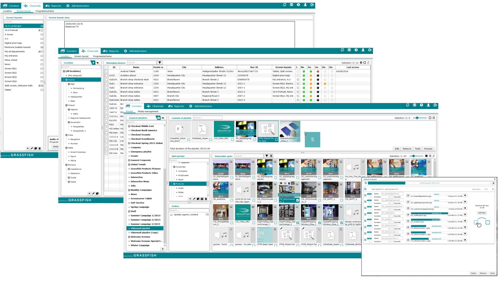 Digital Signage CMS Software - 5