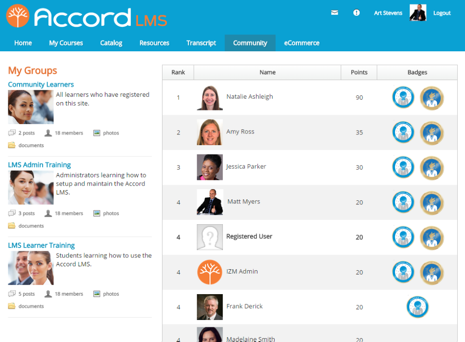 Accord LMS Software - 3