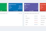 RestoPOS screenshot: RestoPOS dashboard