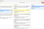 CoSchedule screenshot: Keep a pulse on every project. Visualize your active projects in a Kanban board. Define statuses to describe the unique stages of your team's workflows. Review the state of your projects in real-time to identify roadblocks & monitor team progress.