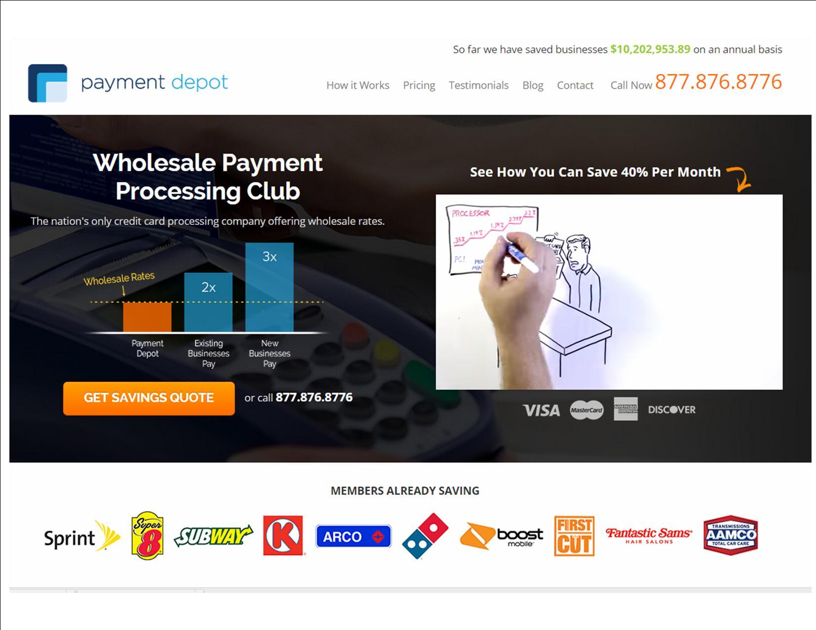 Payment Depot screenshot: screen shot payment depot