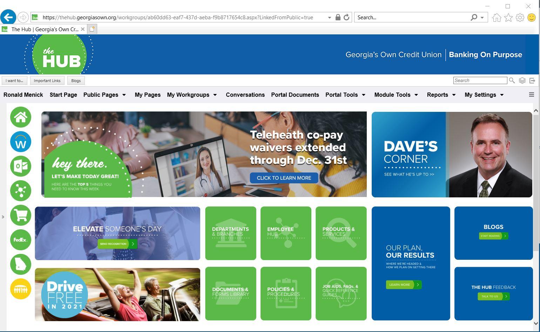 OnSemble homepage