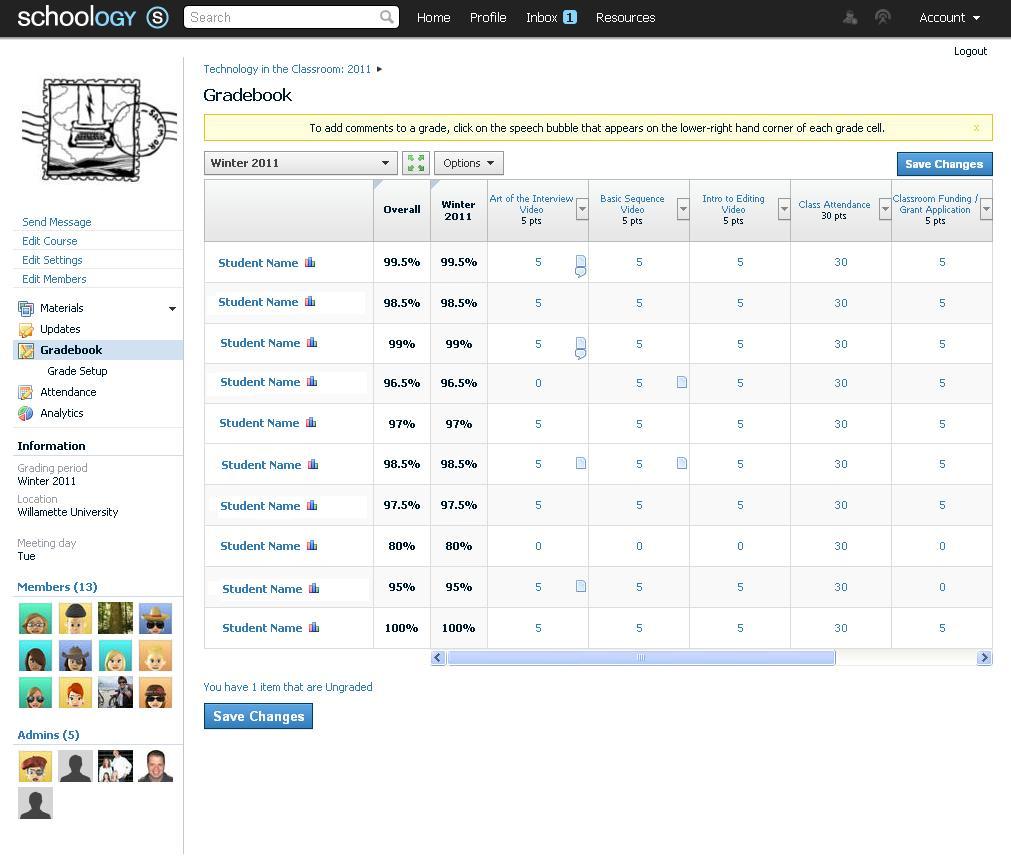 Schoology Software - 5
