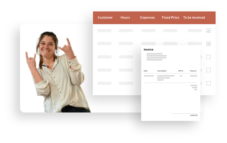 TimeLog Software - Automated invoicing - let go of manual work and human error