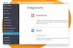 Capture d'écran pour EventMobi : Integrations