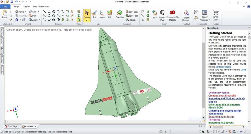 DesignSpark Mechanical Software - 4