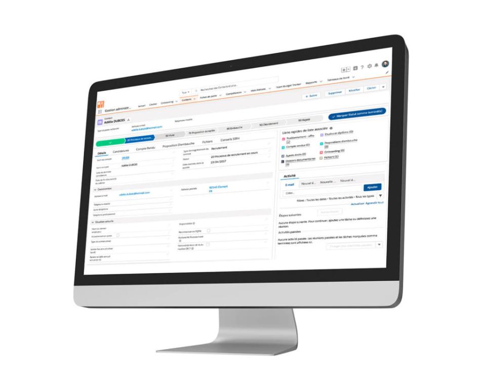 Crosstalent HRMS Software - People management