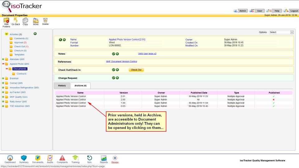 isoTracker Document Management Logiciel - 3