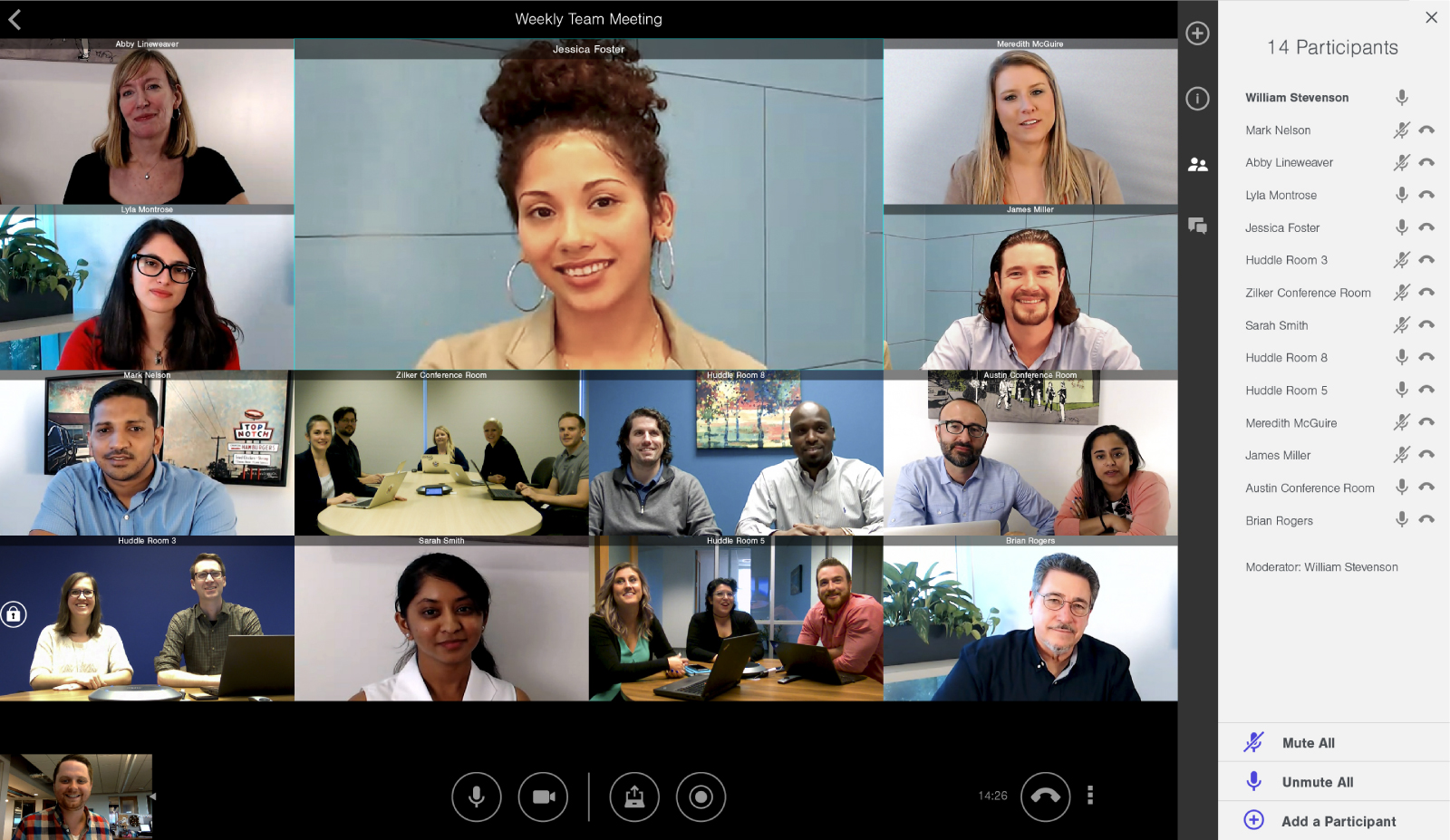 LifeSize Group video conference