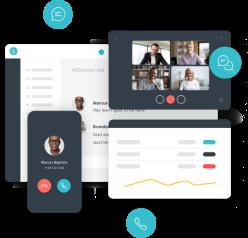 BroadVoice Cloud PBX Software - Communicator - Header