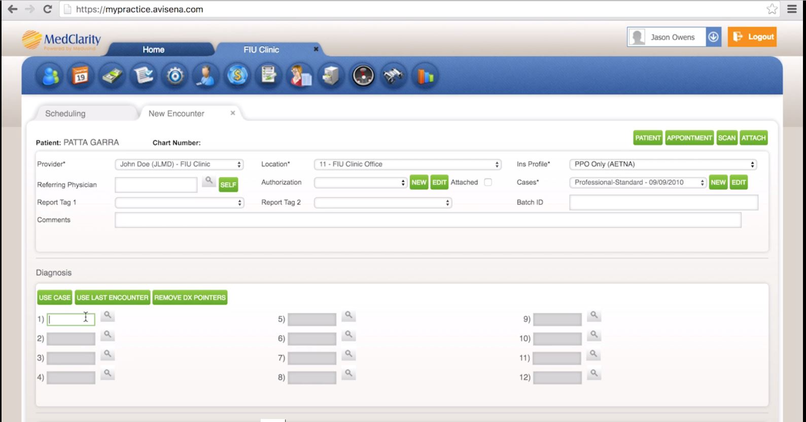 The tool enables users manage patient schedules