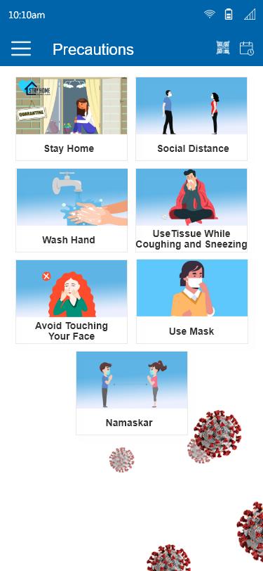 VCDoctor Lifecare Software - Precaution