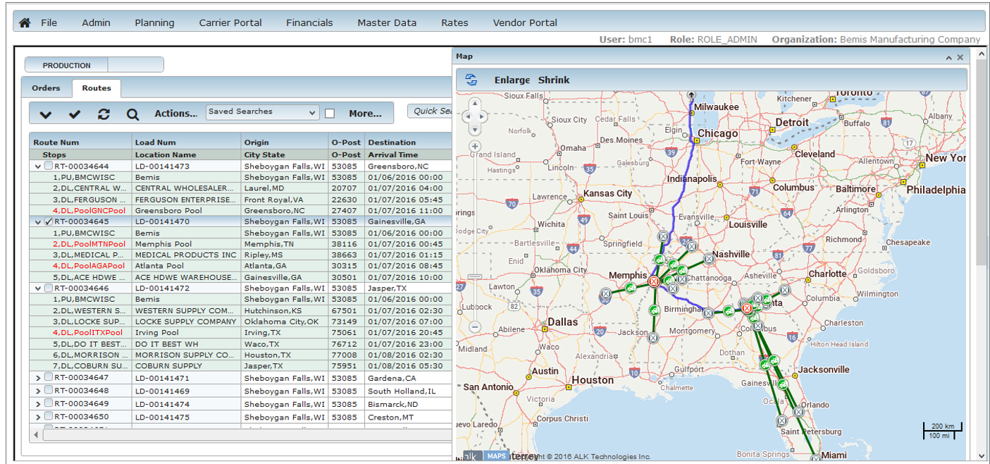 Transportation Planning and Mapping