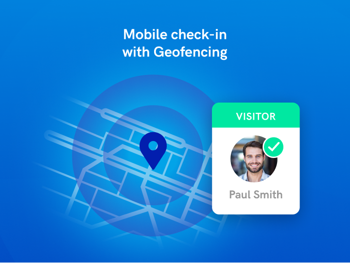 Geofence your site for a quicker check in