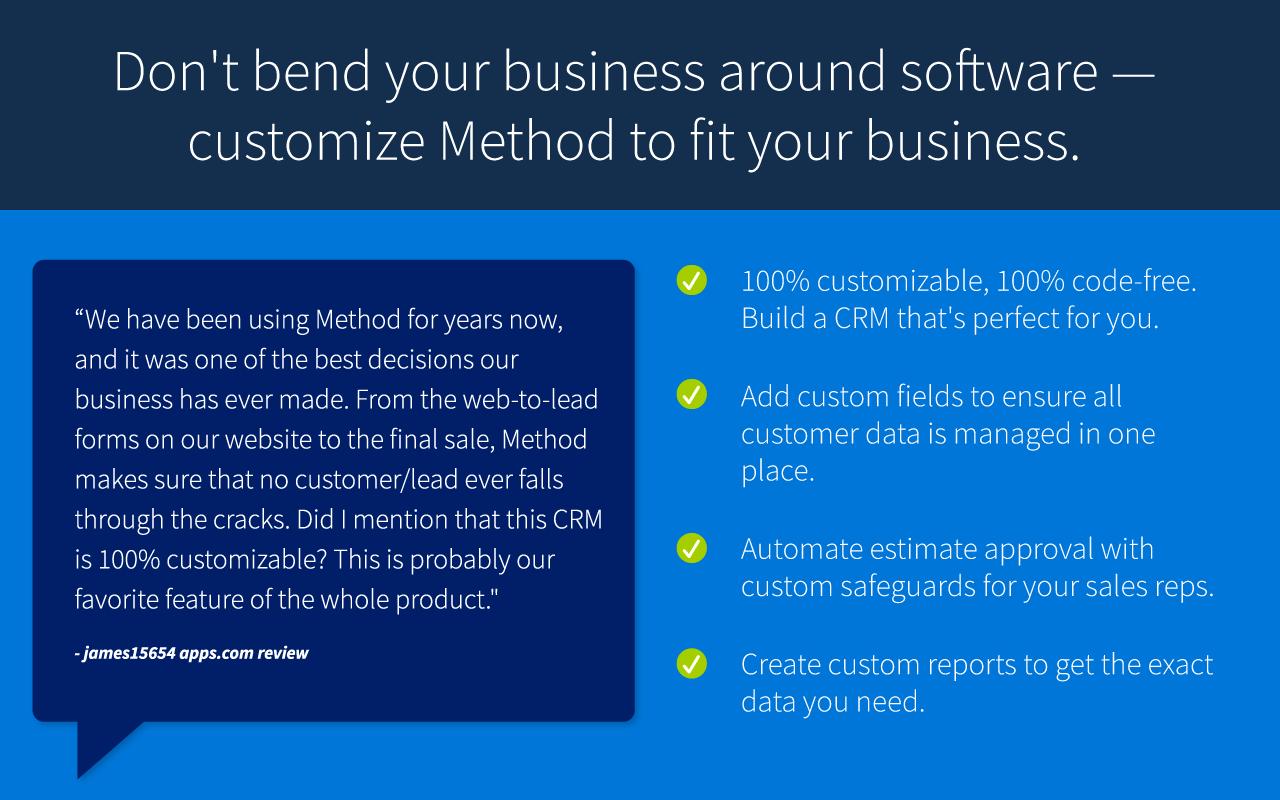 Method CRM Software - 6
