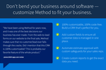 Method CRM screenshot: Don't bend your business around software - customize Method to fit your business.