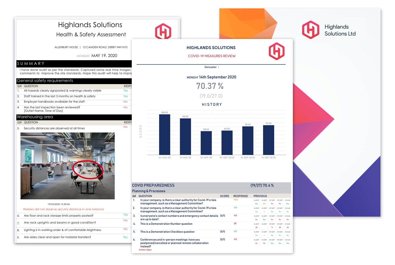 Get real-time insights from smart dashboards and instant inspection reports - professional and insighful