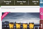 Menumiz screenshot: The digital menu lets customers order food from their mobile device