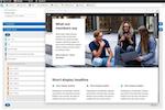 Acquia screenshot: Acquia layout management
